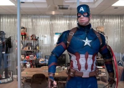 Busterwood Captain America