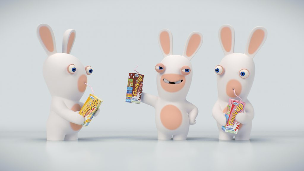 CANDY'UP x RAVING RABBIDS