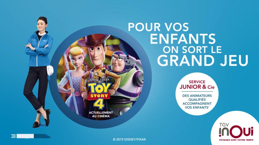 TGV INOUI x TOY STORY 4