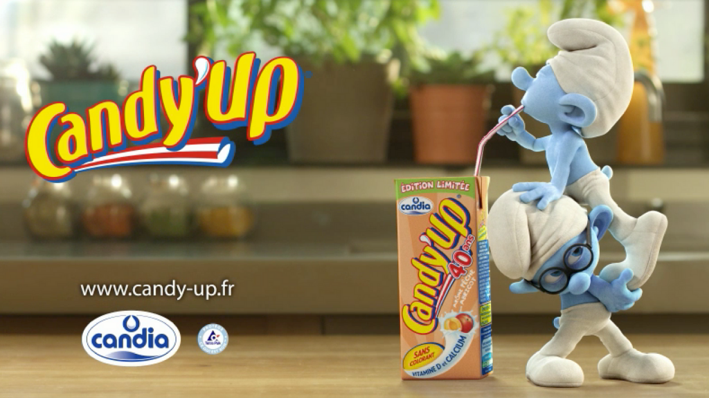 CANDY'UP x THE SMURFS 2