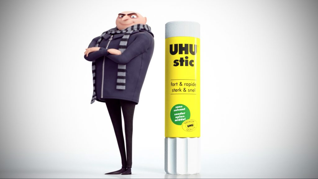 UHU x DESPICABLE ME 3