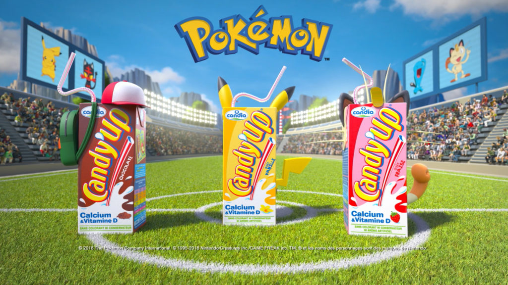 CANDY'UP x POKEMON